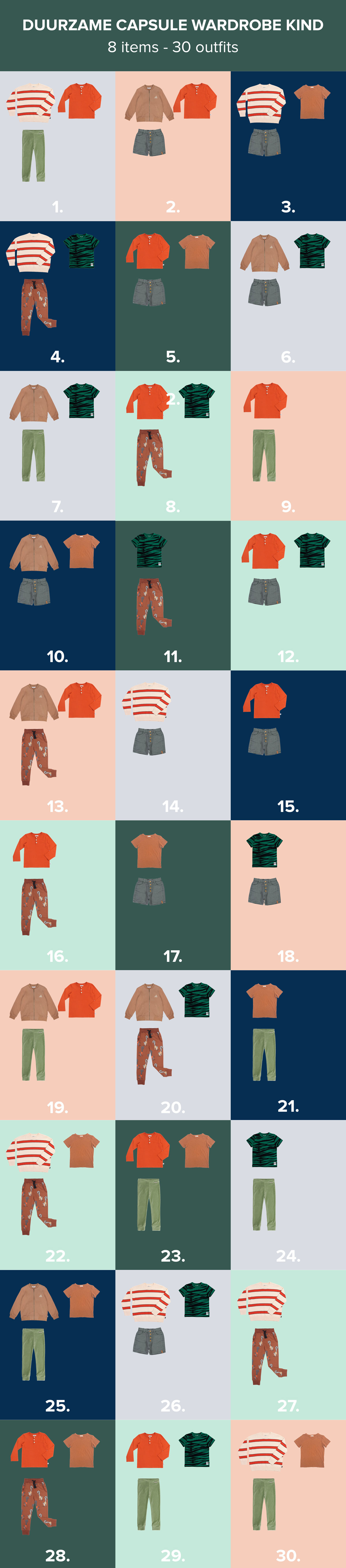 capsule-wardrobe-kind-8-kledingstukken-30-combinaties